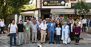 UYSAD'dan Hilvan Belediyesine Ziyaret