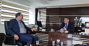 Özcan'dan yeni başkana ziyaret