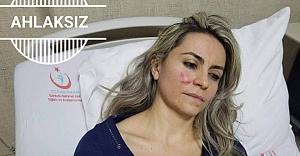 Kadın Doktora saldırdı...