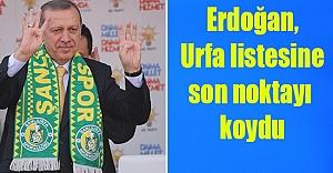 AK Parti Urfa adayları tamam!