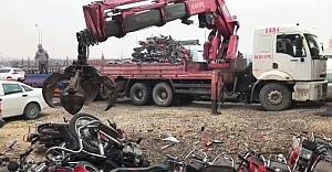 Urfa'daki çürümüş motosikletler bakın nereye kazandırılıyor!...