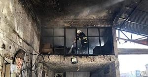 Kamberiye'de yangın paniği