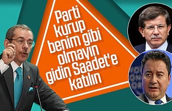 AK Parti'den CHP'ye geçen Şener'den öneri