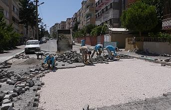 Haliliye'de üst yapı çalışmaları sürüyor