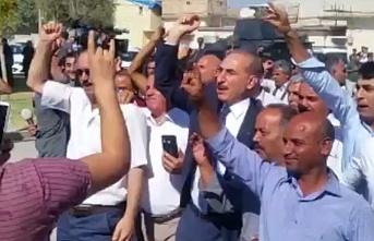 Akçakale halkı Türk Askeri için ayaklandı...