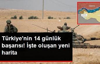 Türkiye'nin 14 günlük başarısı! İşte haritanın son hali...