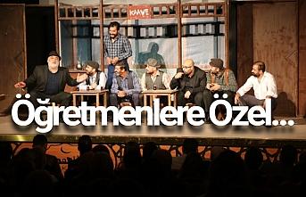 Büyükşehir Tiyatro ekibinden özel gösteri