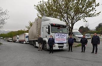 İstanbul'dan Urfa'ya doğru yola çıktılar...