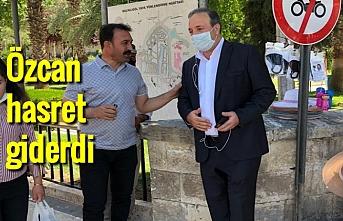 Milletvekili Özcan, yeniden sahaya indi