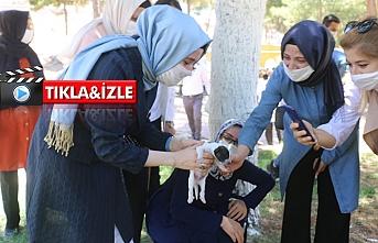 AK Partili kadınlardan örnek davranış...