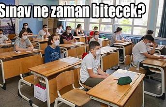 Sınava böyle alındılar...