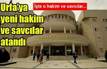 Urfa'da 35 hakim ve savcının görev yeri değişti