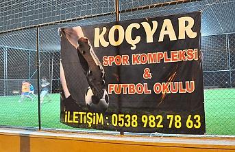 Urfa'da spor kompleksi açıldı