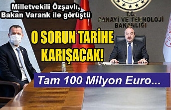 Milletvekili Özşavlı'dan Urfa için müjde...