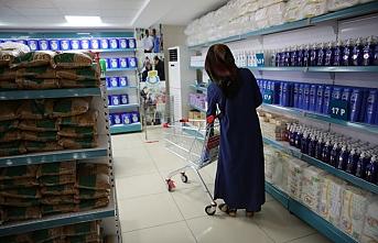 Gıda Market'te hizmet devam ediyor
