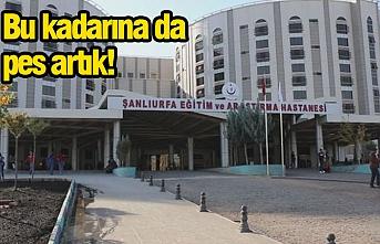 Urfa'da 30-40 kişi hastaneyi bastı