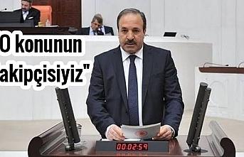 Milletvekili Özcan TBMM'de o iddialara cevap verdi
