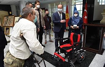 Erin, engelli vatandaşları sevindirdi