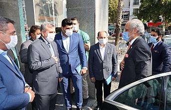Kuveytli Büyükelçi Urfa'da...