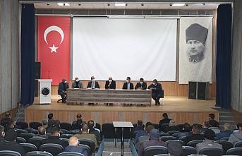 Başkan Aksoy personeliyle bir araya geldi