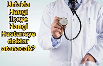 Doktor ataması yapılacak
