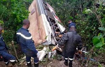 Feci kazada 40 kişi öldü..