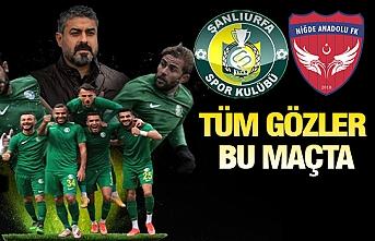 Şanlıurfaspor'da kader maçı