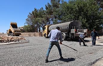 Büyükşehirin Halfeti'de ki çalışmaları aralıksız sürüyor