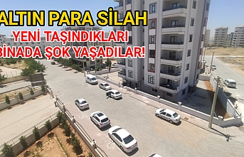 Urfa'da hırsızlar bayram seyran dinlemedi!