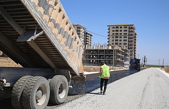 Haliliye'de asfalt çalışmaları sürüyor