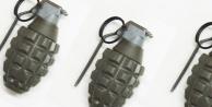 2 Silah ve 7 el bombası ele geçirildi