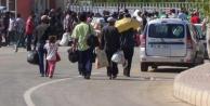500 Suriyeli ülkesine döndü...
