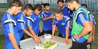 Abdulkadir'e doğum günü sürprizi