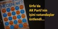 AK  Parti boşladı işi vatandaş sırtladı
