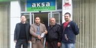 Aksa'dan teşekkür belgesi