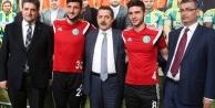 Bakan Çelik, Urfaspor'a moral verdi