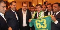 Davutoğlu'ndan Şanlıurfaspor'a destek sözü