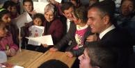 Başbakan sığınmacıları ziyaret etti