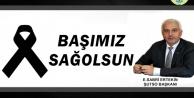 Başkan Ertekin'den Başsağlığı Mesajı
