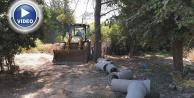 Çamlıdere'de drenaj çalışması başlatıldı
