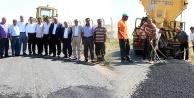 Ceylanpınar Belediyesi Köy Yolarını Asfalt Yama Yapımına Başladı