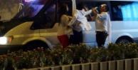 Düğün konvoyunda kavga çıktı