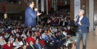 Dünyanın en akıllı adamı Eyyübiyeli öğrencilerle buluştu
