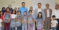 Eyyübiye Belediyesinden öğrencilere çanta ve kırtasiye yardımı