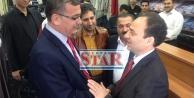Güvenç ile Baydemir'in sürpriz karşılaşması!