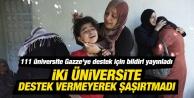 İmza atmayan iki Üniversite