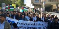 İsrail'e lanet için yürüdüler