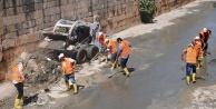 Karakoyun Deresi yeniden temizleniyor...