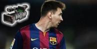 Messi'den şok eden hareket