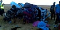 Piknik dönüşü feci kaza!